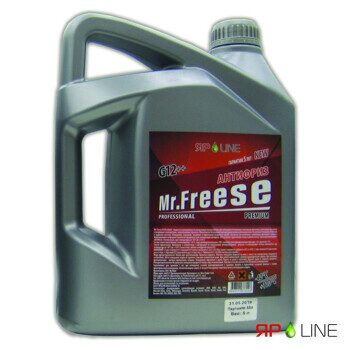 "Антифриз Яр Line ""Mr.Freese"" G12++ красный  5л /30/120/"